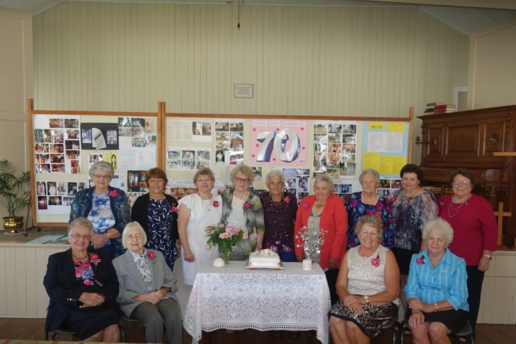 Ropeley Lutheran Ladies Guild 70th Celebration